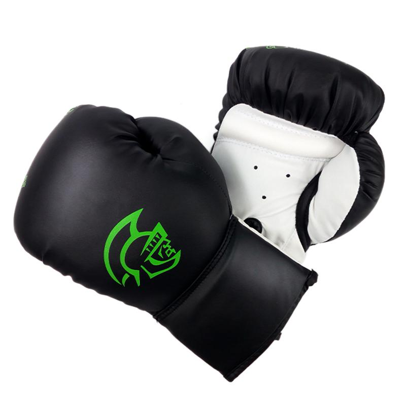 Breathable PU Leather 3-6 Years Child Babies Kids Kick Fighting Boxing Gloves Muay Thai Carton Funny Boxe Gloves Fitness Gear